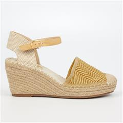 BUTTERFLY FEET YELLOW VIRGO ESPADRILLE WEDGE