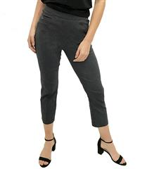 JOLIE DENIM BLACK 3/4-LENGTH STRETCH PANTS