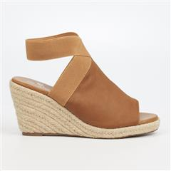 BUTTERFLY FEET TAN DRAYCO ESPADRILLE WEDGE