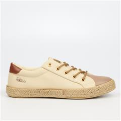 MISS BLACK- TAUPE REPUBLICA2 SNEAKER