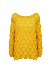 JOLIE FLARE SLV KNIT - YELLOW