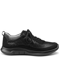 HOTTER BLACK MULTI STAR SNEAKER