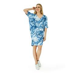 HIP HOP BLUE COCOON BENNET DRESS