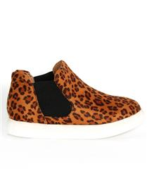 JOLIE HIGH TOP LEOPARD  SNEAKER