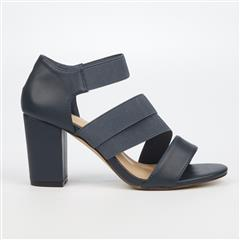 BUTTERFLY FEET NAVY BELOVED3 HEEL