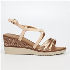 BUTTERFLY FEET PINK BELLAIR SANDAL WEDGE