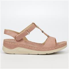 BUTTERFLY FEET ROSE GOLD ZULU SANDAL