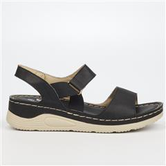 BUTTERFLY FEET BLACK DELTA SANDA