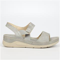 BUTTERFLY FEET GREY DELTA SANDAL