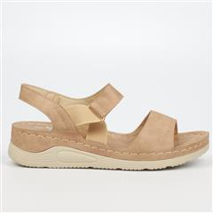 BUTTERFLY FEET TAUPE DELTA SANDAL