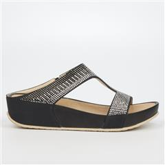 BUTTERFLY FEET BLACK PRIKAS SANDAL