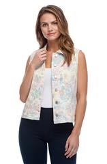 FRENCH DRESSING JEANS MULTICOLOUR VEST