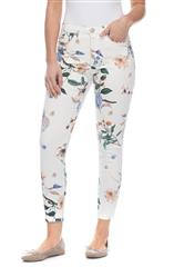 FRENCH DRESSING JEANS FLORAL MULTI OLIVIA SLIM LEG