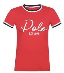 POLO RED BREE LOGO TEE