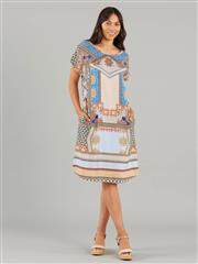 YARRA TRAIL MOSAIC PRINT DRESS