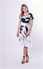 YARRA TRAIL SANCTUARY PRINT DRESS