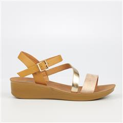BUTTERFLY FEET TAN CICILIA SANDAL