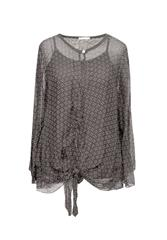 MII BLOUSE - GREY