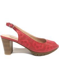 SOFT STYLE RED SIERRA SLING-BACK HEEL