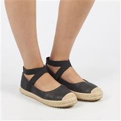BUTTERFLY FEET BLACK KATLIN2 ESPADRILLE SHOE