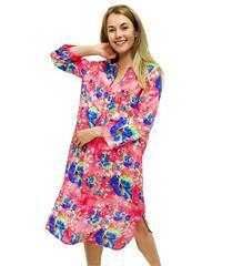 JOLIE PINK FLORAL MAUREEN DRESS