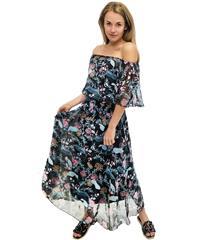 JOLIE NAVY MULTI FLORAL ISABELLA DRESS