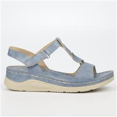 BUTTERFLY FEET BLUE ZULU SANDAL
