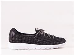 FROGGIE BLACK MULTI FEATHERLIGHT SNEAKER