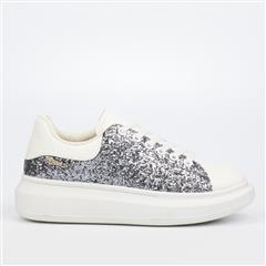 MISS BLACK PEWTER QUEEN SNEAKER