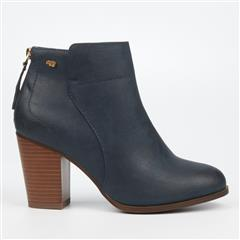 MISS BLACK NAVY AHLAM3 BOOTS