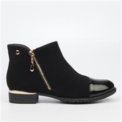 MISS BLACK- BLACK HADAR BOOTS