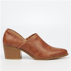 BUTTERFLY FEET TAN LEO SHOE BOOT