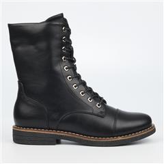 BUTTERFLY FEET BLACK DENNY BOOTS