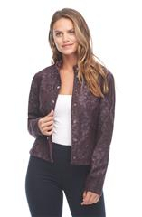 FRENCH DRESSING JEANS WINE REVERSIBLE JACKET