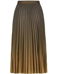 GERRY WEBER OLIVE OMBRE PLEATED SKIRT