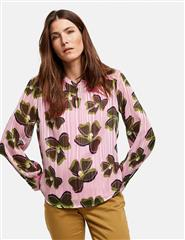 GERRY WEBER SHINY PINK  BLOUSE - PINK