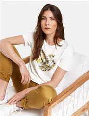 GERRY WEBER WHITE FLORAL HEART TOP