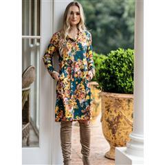MASTIK AUTUMN FLORAL DRESS