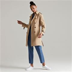 POLO STONE TRENCH COAT WITH BELT