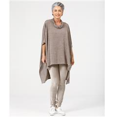 BRAVE + TRUE FOSSIL MARLE OUTLAW PONCHO
