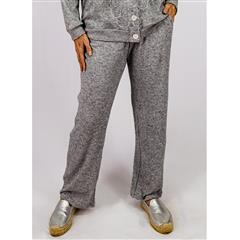 CALYPSO GREY RELAXED KNIT PANT