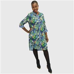 CALYPSO TOUCAN SHIRT DRESS