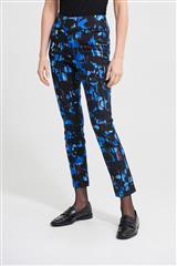 JOSEPH RIBKOFF BLUE MULTICOLOUR PANTS