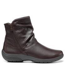 HOTTER CHOCOLATE LEATHER WHISPER BOOTS