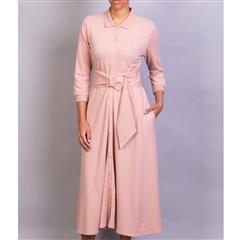 POLO BLUSH RACHEL BELT DRESS