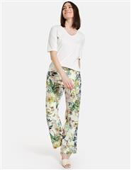 GERRY WEBER FLORAL PRINTED TROUSERS