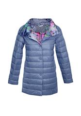 MADE IN ITALY PUFFER JACKET - BLUE