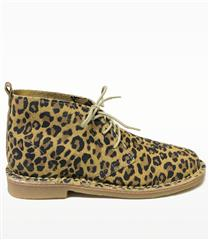 NEW EARTH LEOPARD PRINT SUEDE LEATHER SHOES