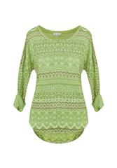 MADE IN ITALY L/S TOP - GREEN