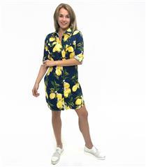 JOLIE LEMON ANNIE SHIRT DRESS